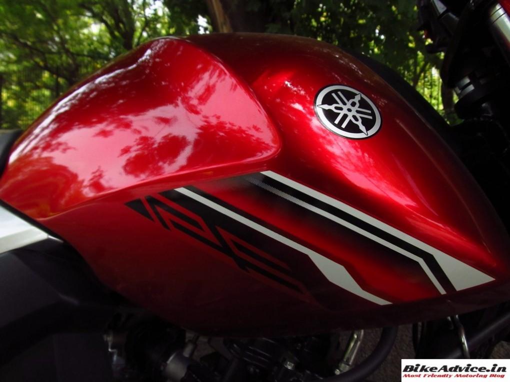 Yamaha Saluto Fuel Tank 1