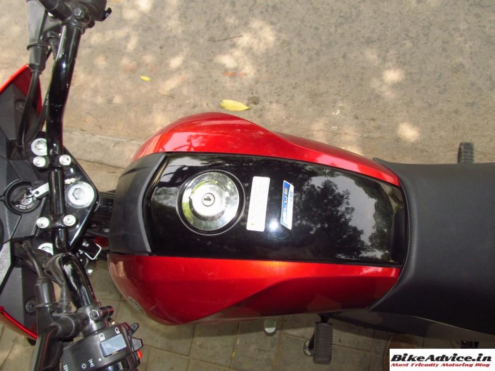 Yamaha Saluto Fuel Tank 3