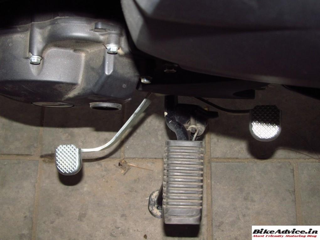 Yamaha Saluto Gear Level