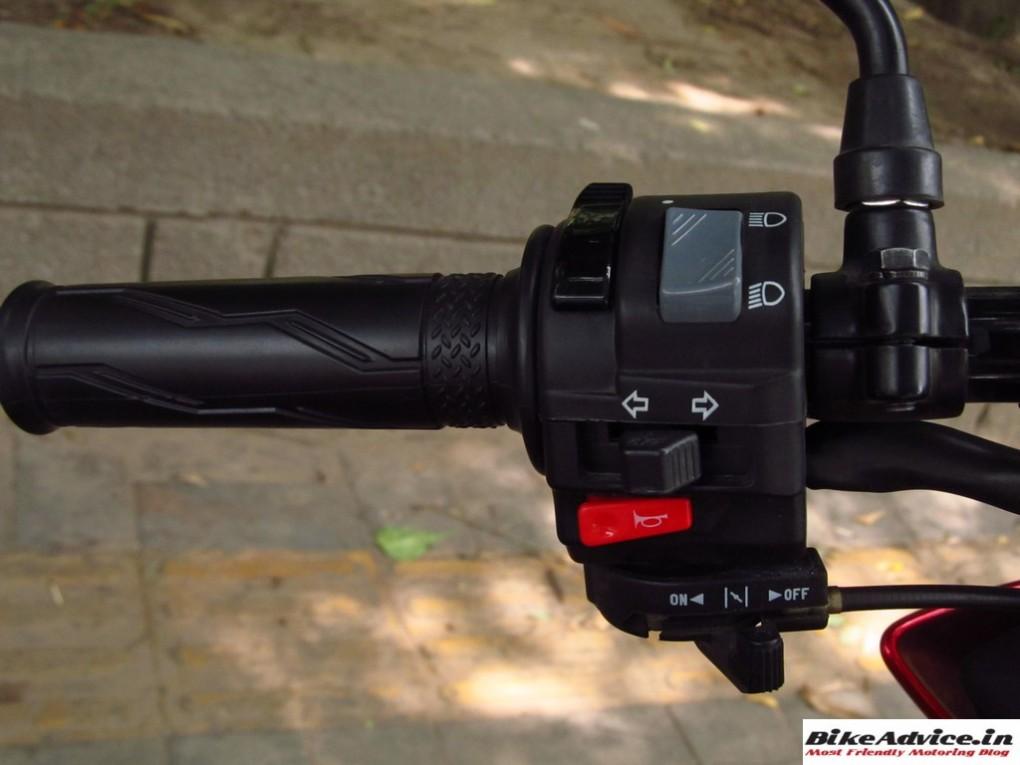 Yamaha Saluto Left Side Switch Gear