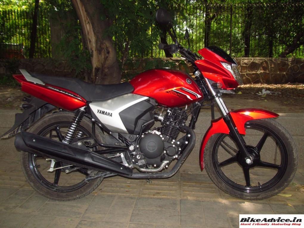 Yamaha Saluto Side