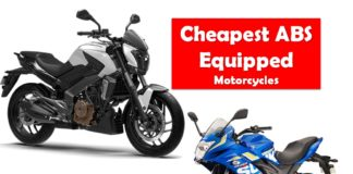 Cheapest ABS Motorcycles