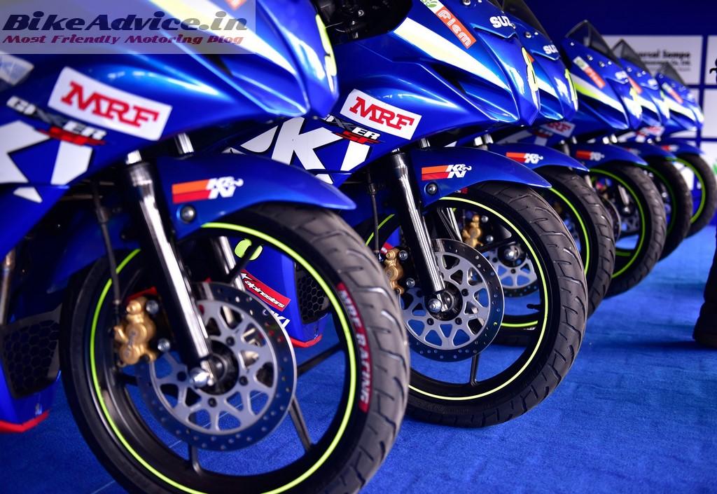 Gixxer Cup Media bikes 2
