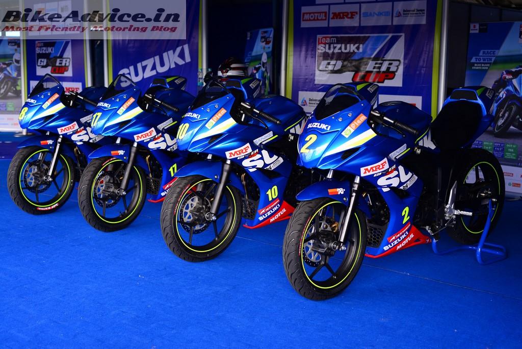 Gixxer Cup Media bikes