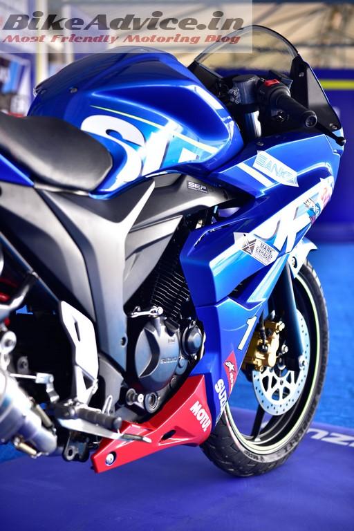 Gixxer Race SF rear sets