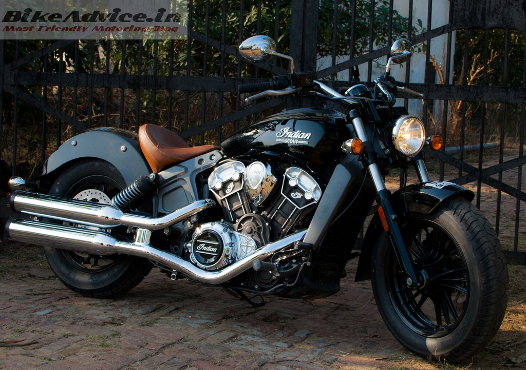 Indian Scout design
