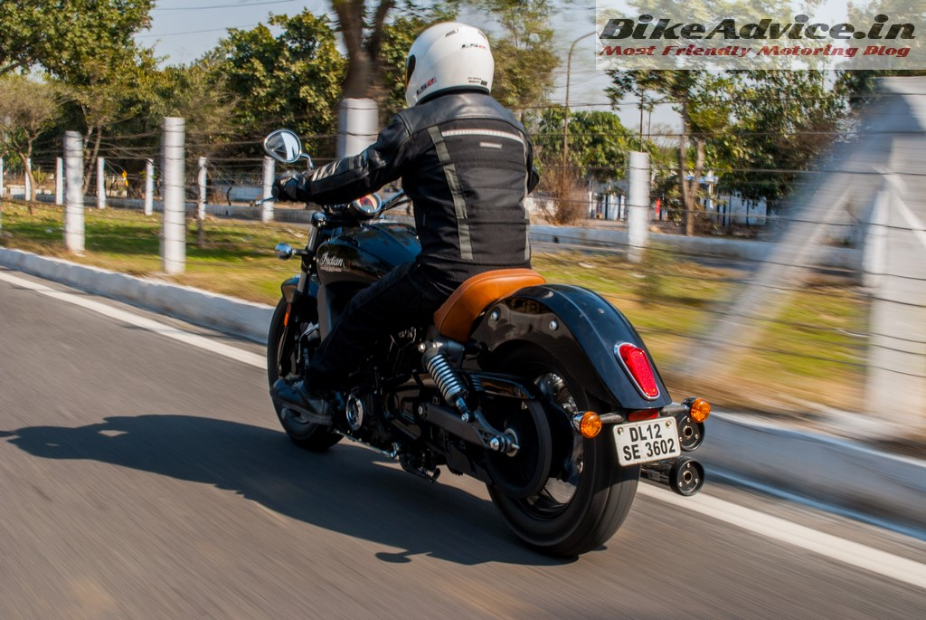 Indian Scout speed