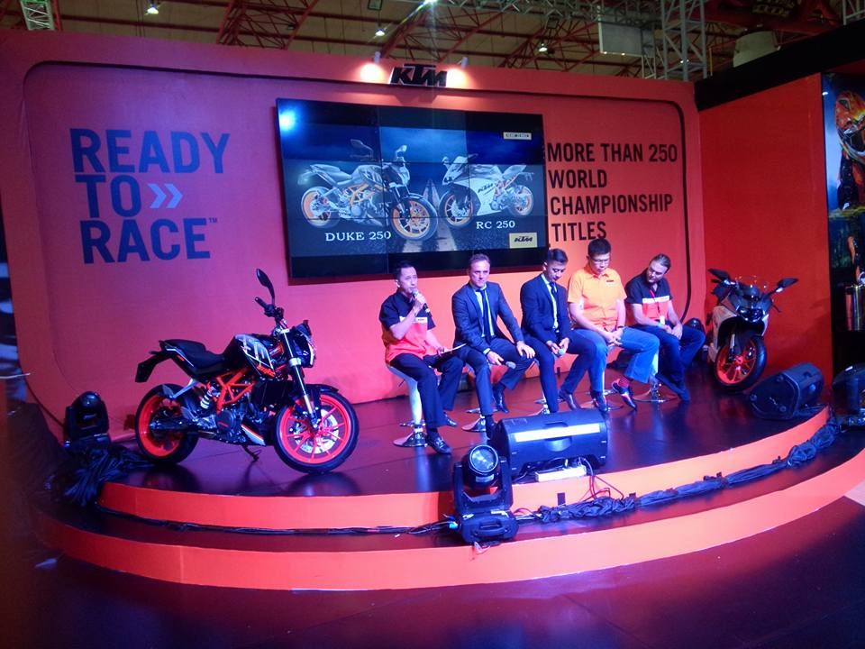 KTM Dujke 250 and RC 250 launched