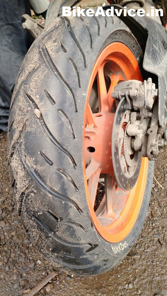 Mrf Tyres For Ktm Duke