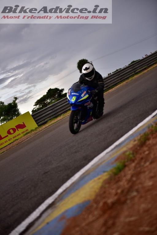 Suzuki Gixxer SF racing bike