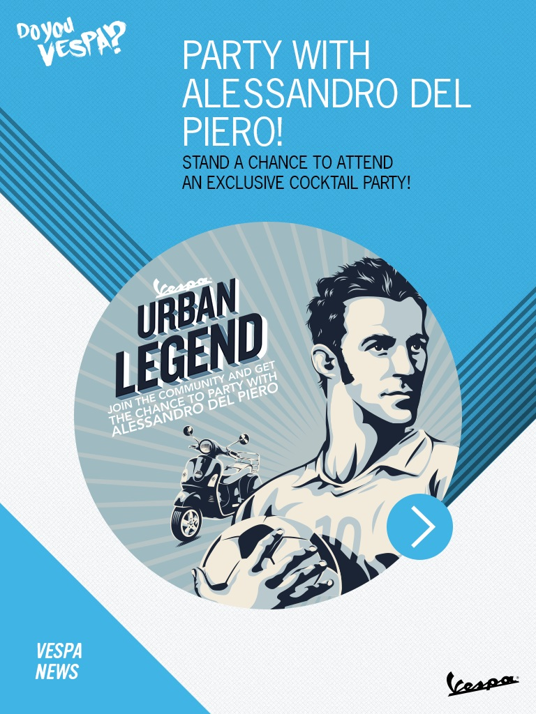 Vespa Urban Legend 1