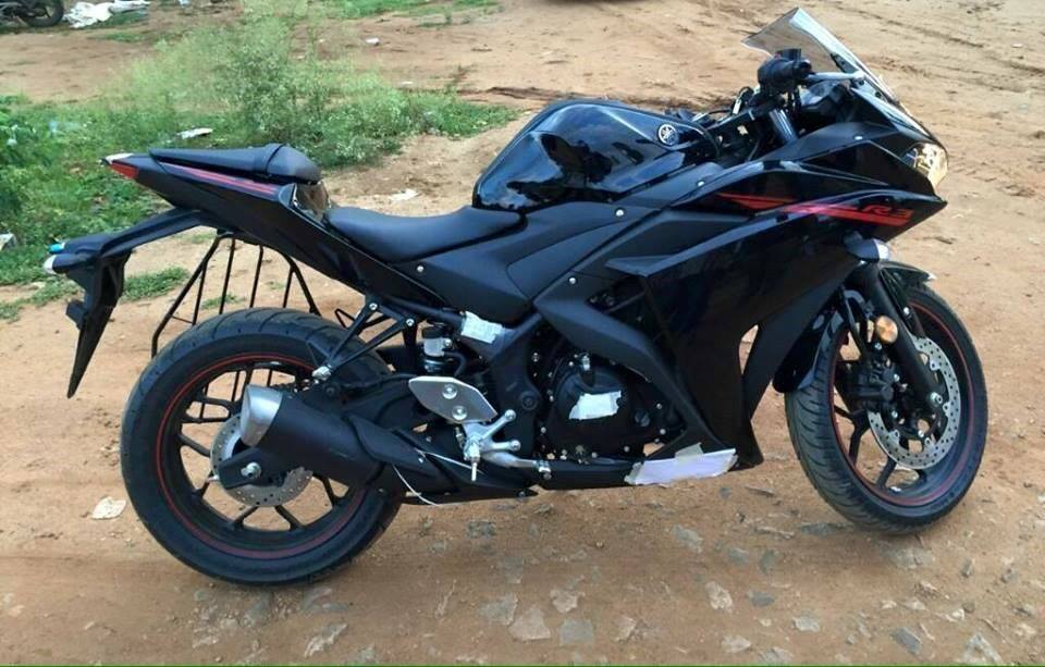 Days Before Launch Yamaha R3 Spotted Abs Not Standard