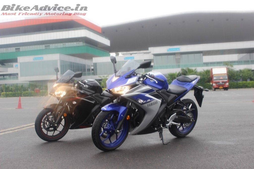 Yamaha R3 colors