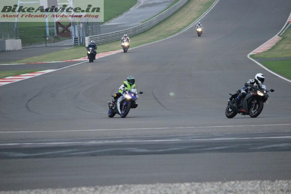 Yamaha R3 on BIC