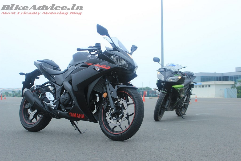 Yamaha R3 vs R15
