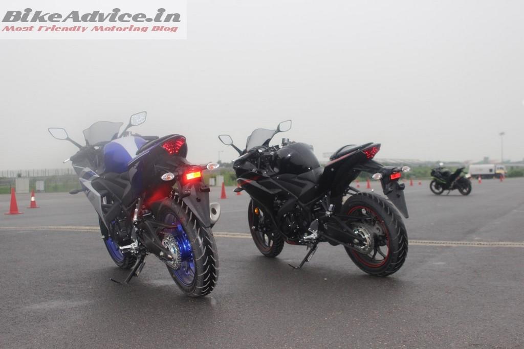 Yamaha YZF-R3 rear