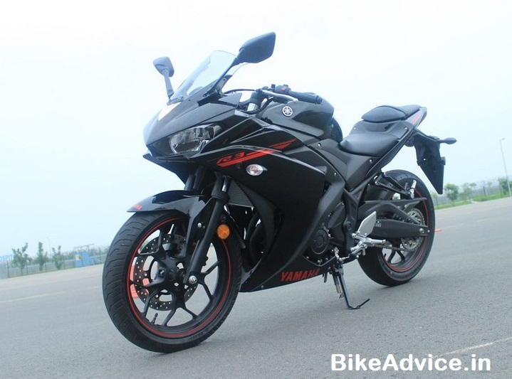 yamaha yzf r3 first ride review top speed braking handling
