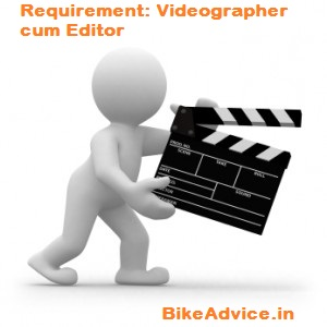 Videographer-Requirement
