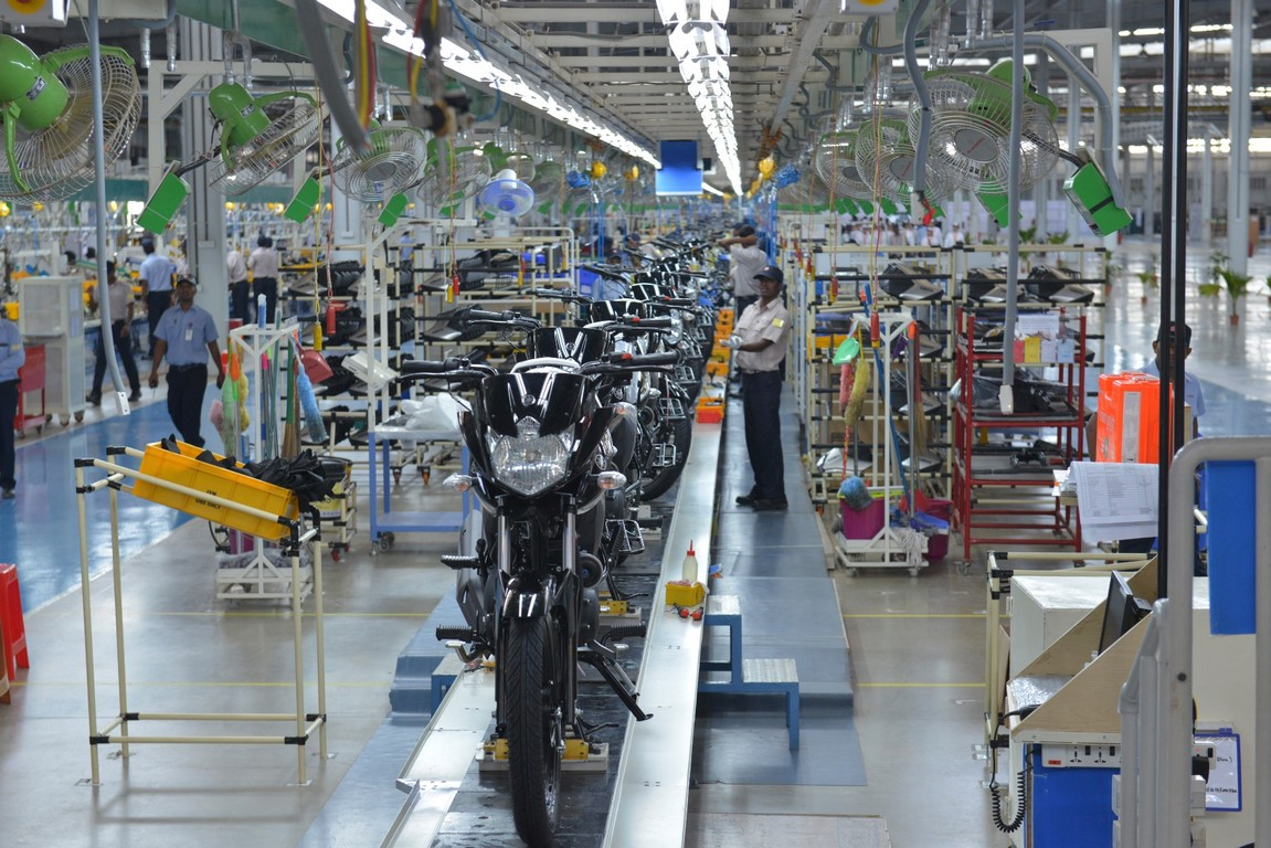 Yamaha chennai plant 1 for Production builder