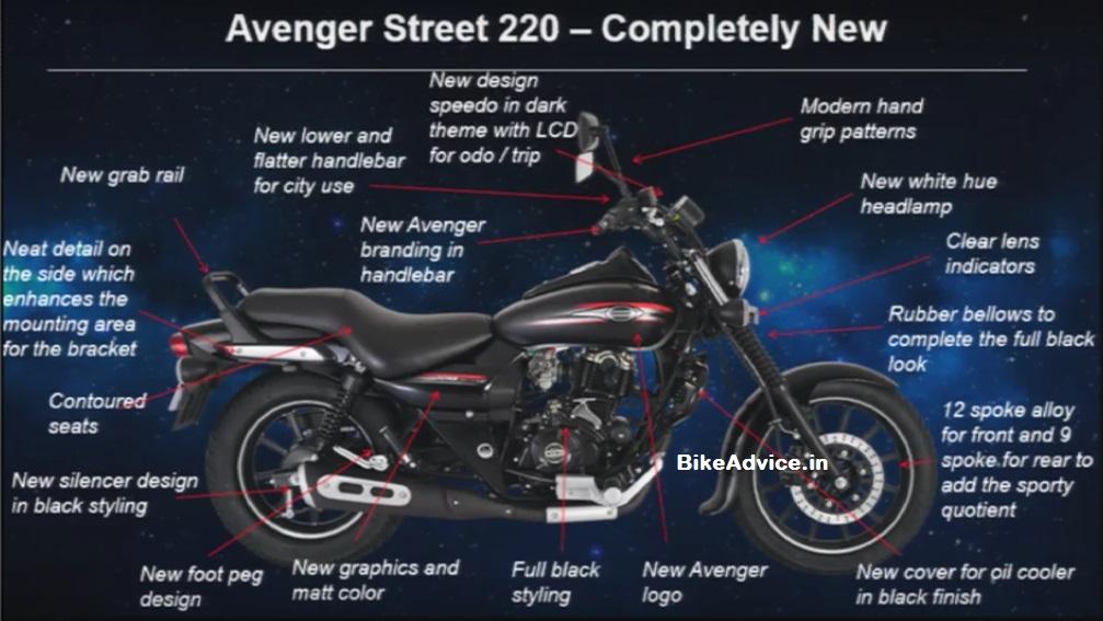New Avenger Cruise Amp Street 220 List Of 7 Changes