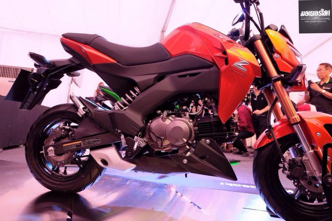 kawasaki z125 orange | bikeadvice.in