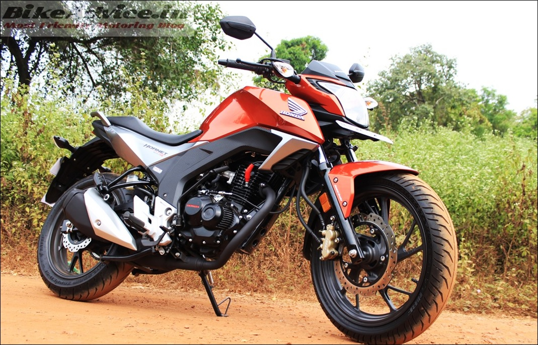 cb hornet 160r gets 2 new colours