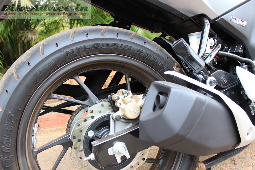 Honda Hornet rear tyre