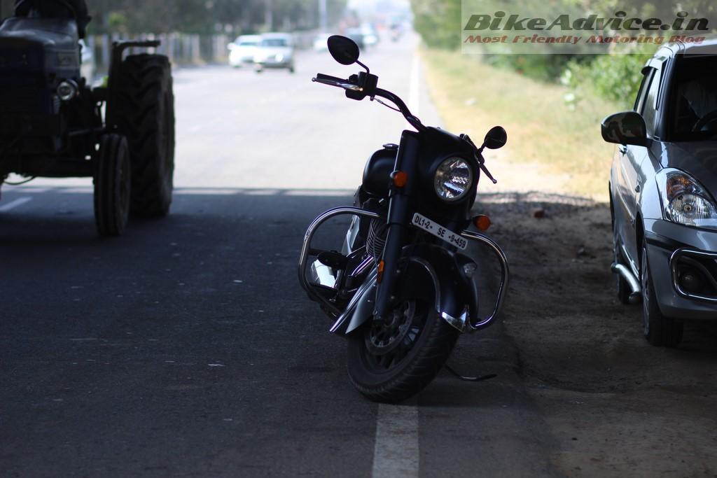 Dark Horse on road