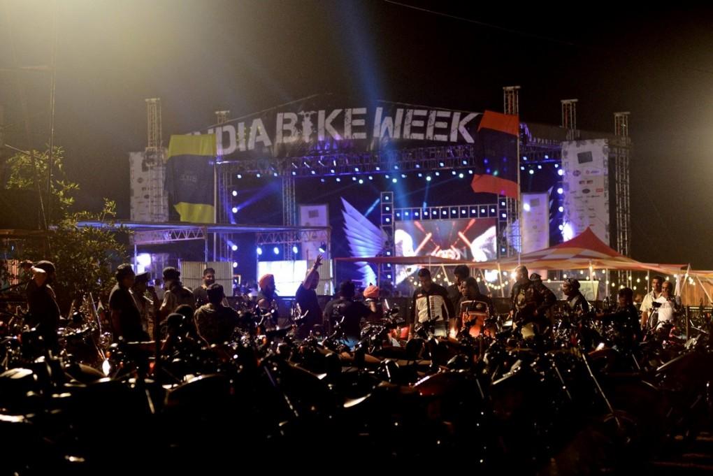 India Bike Week a