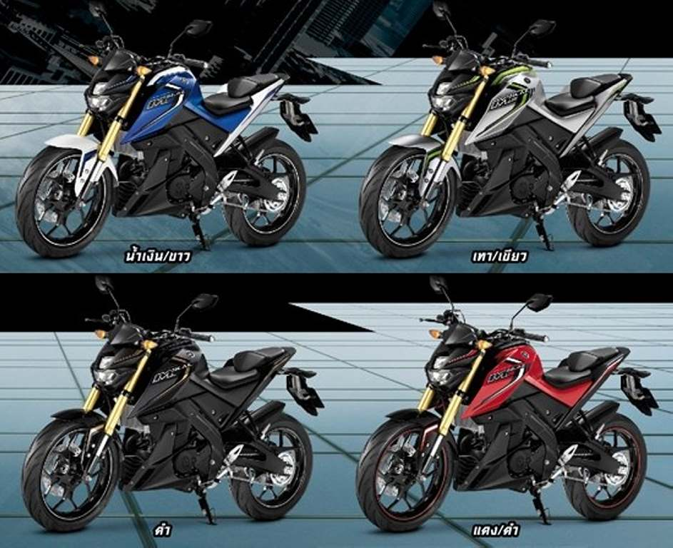 Yamaha m slaz mt15 launched in thailand price pics specs for Yamaha motorcycles thailand prices
