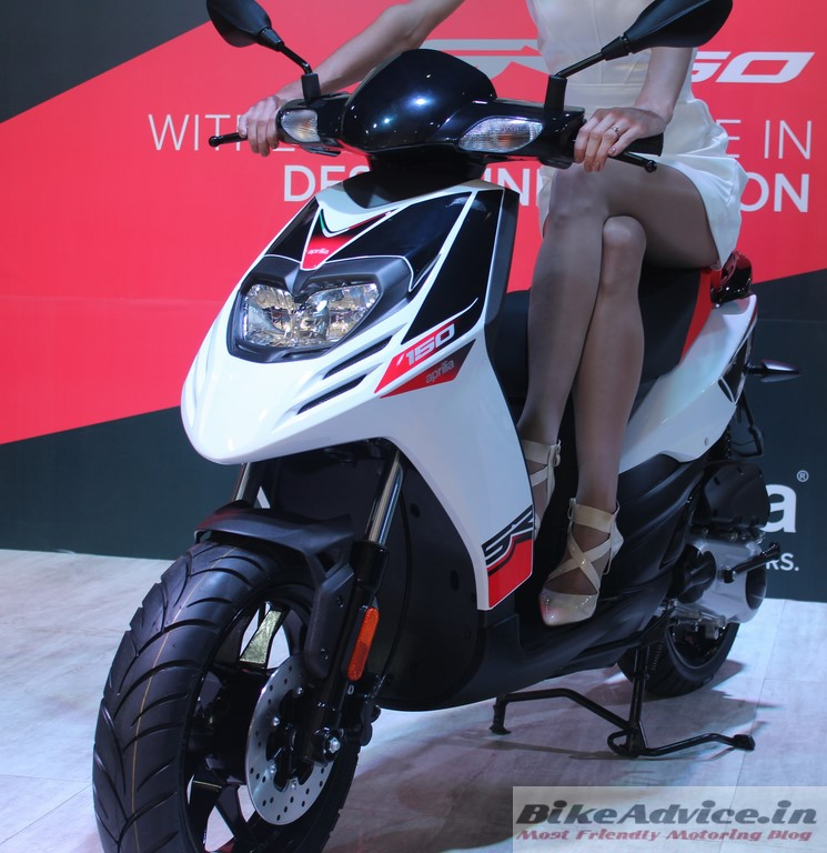 Aprilia SR 150 to have Introductory Price of Rs 65,000 ...