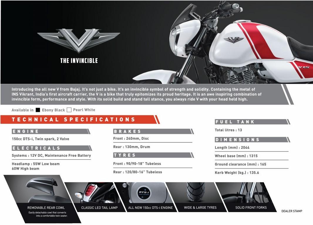 Bajaj V15 Quick Pointers Engine Launch Price Deliveries