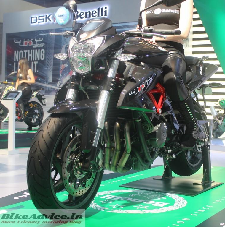 Benelli TNT 600i ABS Pic Auto Expo