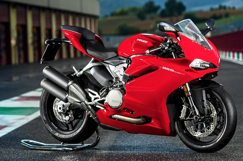 Ducati 959 Panigale Red Pic