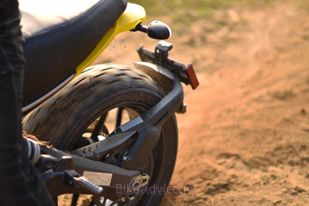 Ducati Scrambler Pirelli tyre