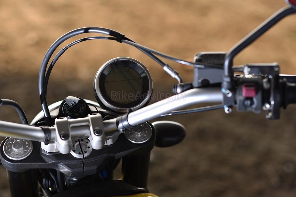 Ducati Scrambler speedo