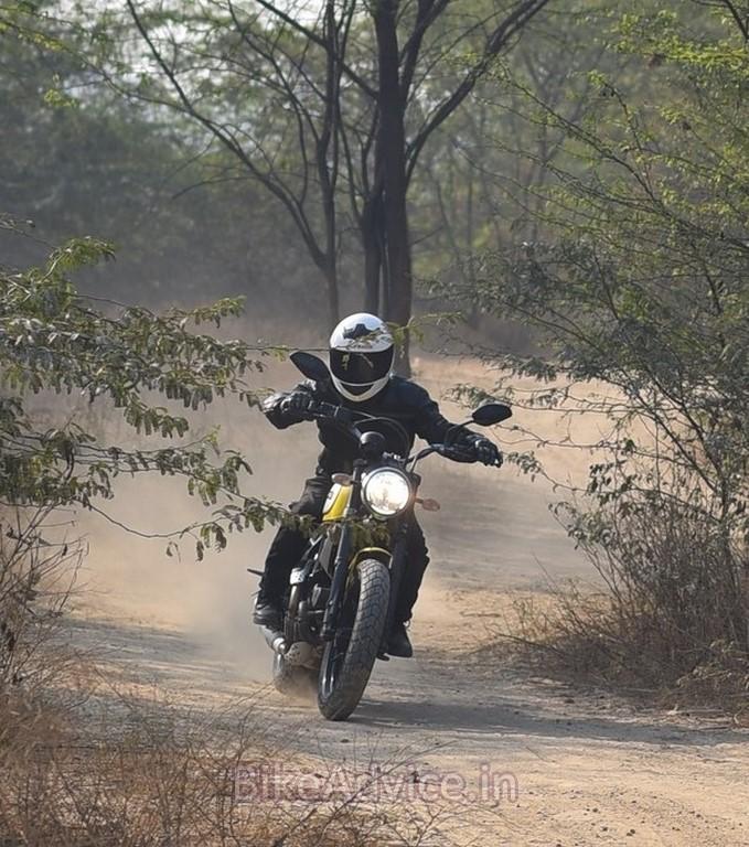 Ducati dirt bike
