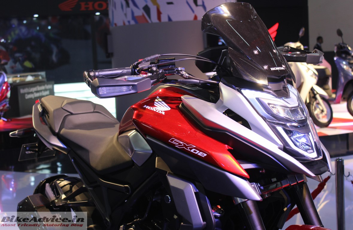 Car Expo Standsaur : Honda cx adventure cross concept pics features auto