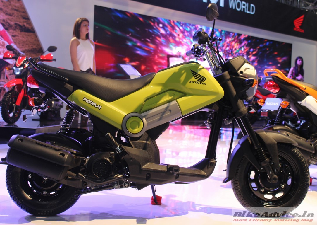 Auto Expo 2016 Launches Updates News Images: Honda Navi Launched: Price, Pics, Features & Variants