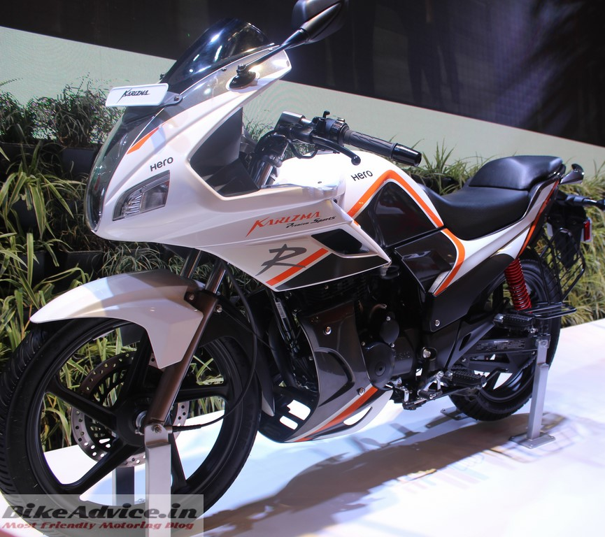 New Hero Karizma R White Black Special Edition