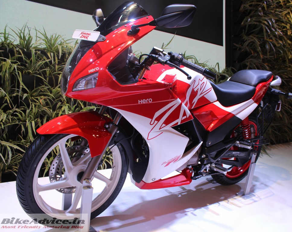 New Hero Karizma ZMR Red White Special Edition