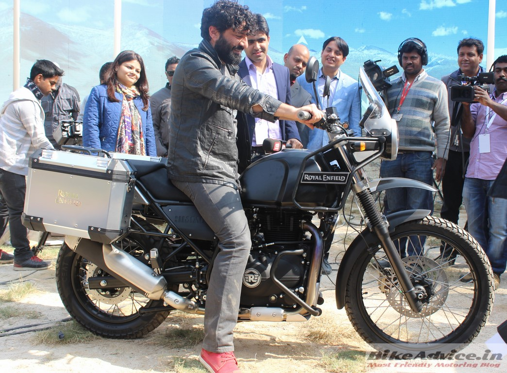 Peachy Royal Enfield Himalayan Unveiled Specs Pics Launch In March Cjindustries Chair Design For Home Cjindustriesco