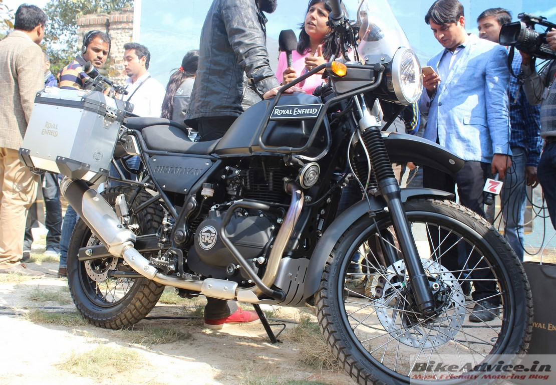 Royal Enfield Himalayan Unveiled Specs Pics Launch In March