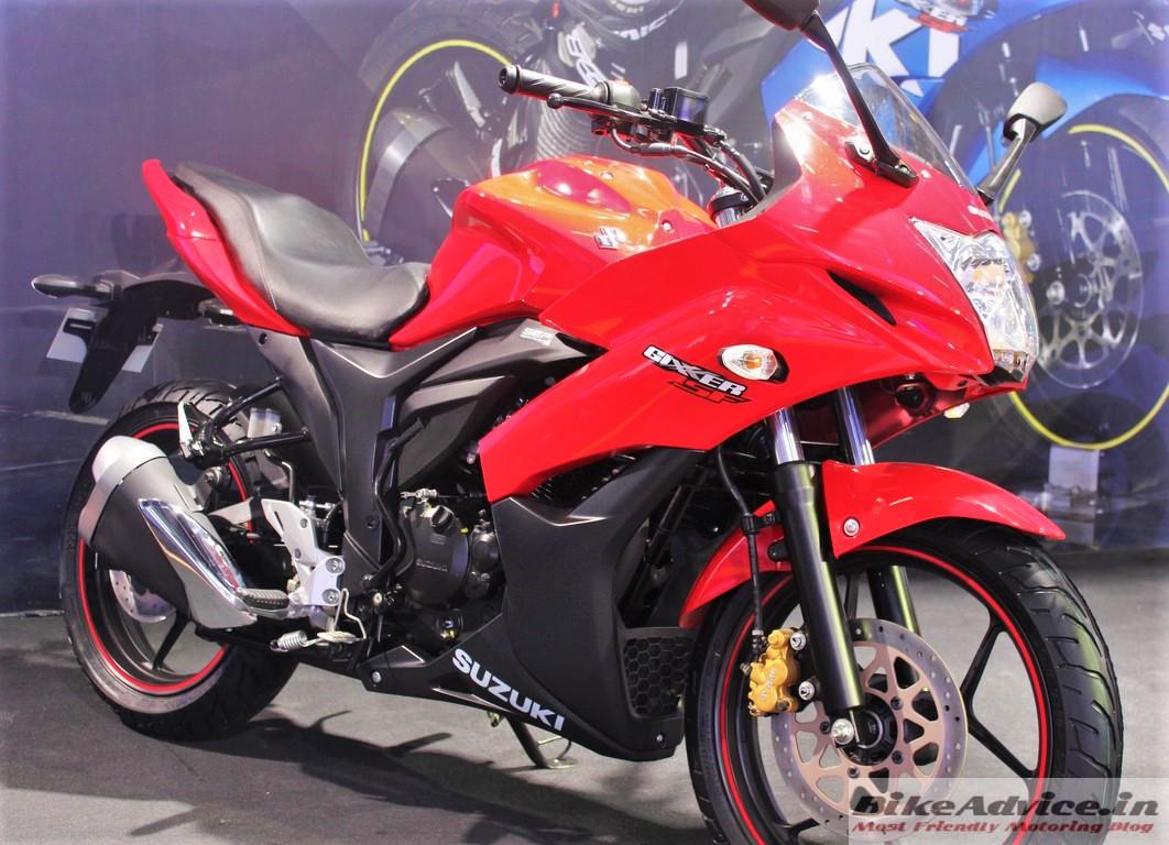 Suzuki Gixxer Sf Red