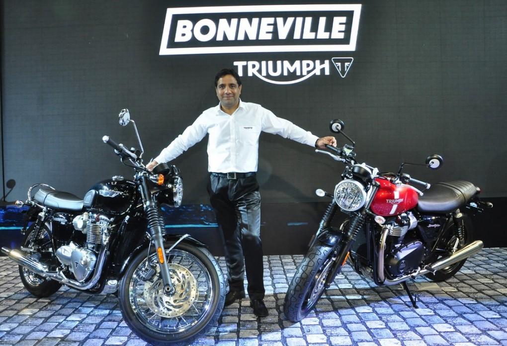 Triumph Bonnieville