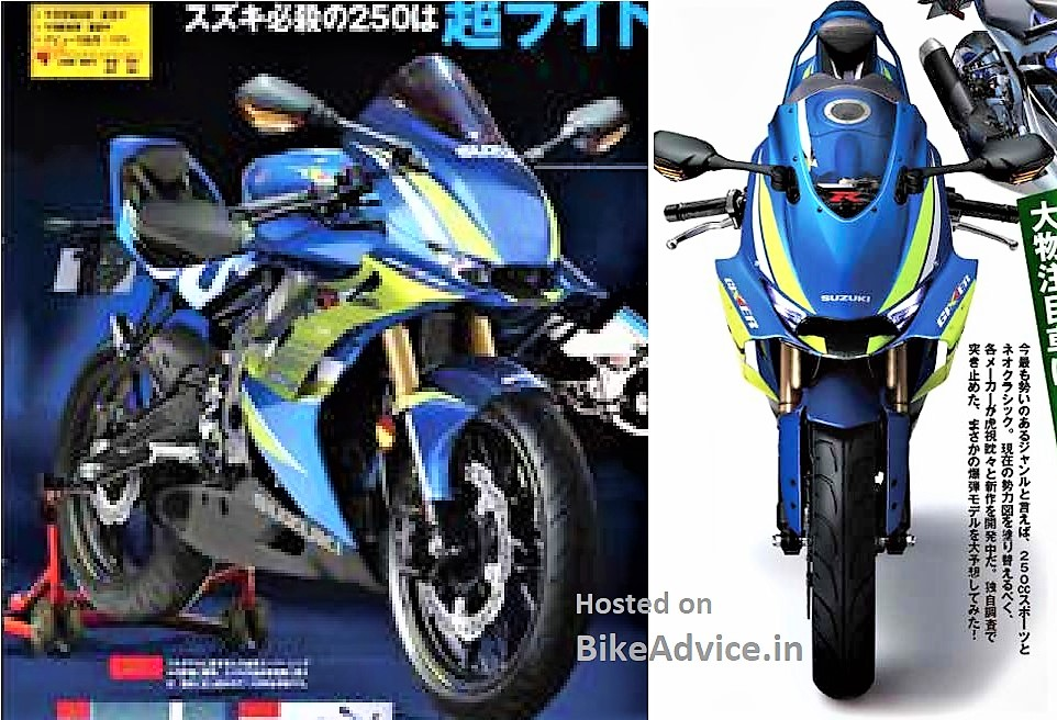 GIXXER 250: Fresh Rumours Erupt Along with Aggressive Render Pics