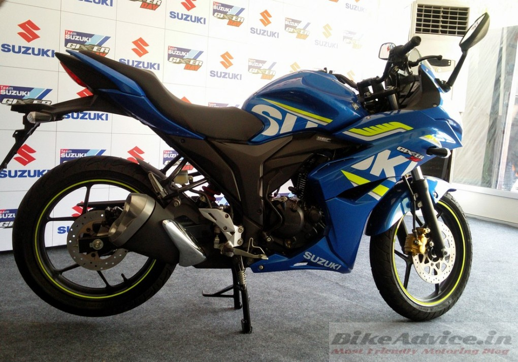 Suzuki Gixxer SF rear disc 1
