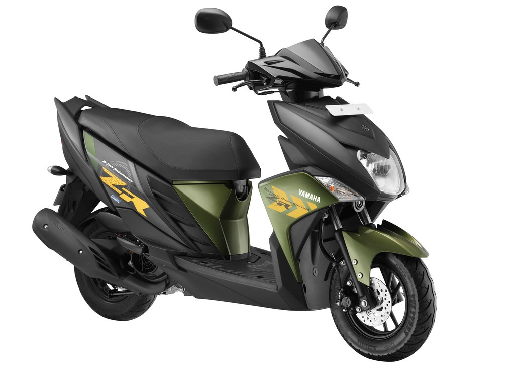 cygnus ray zr launched at rs 52 000 yamaha 39 s first disc