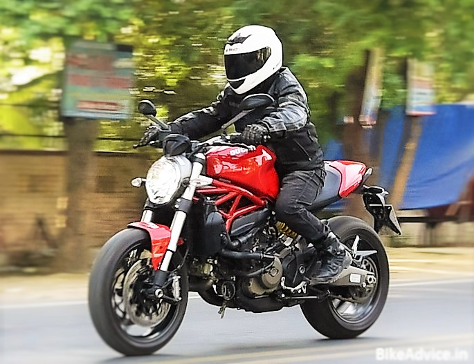 Ducati Monster 821 >> 2016 Ducati Monster 821 Review India Performance Fuel