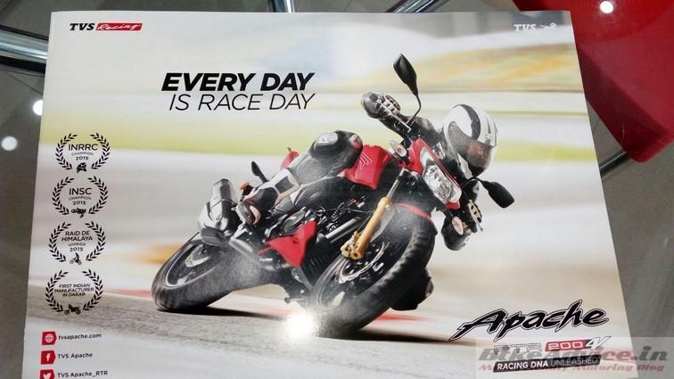 TVS Apache 200 brochure 1